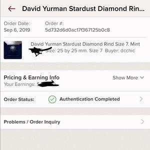 David Yurman Stardust ring purchased by @dcchic
